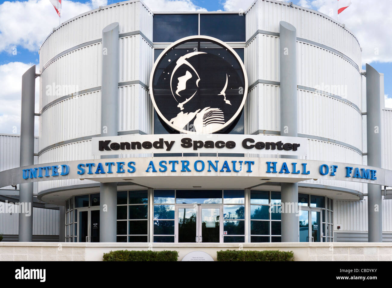 Kennedy Space Center United States Astronaut Hall of Fame, Florida, USA - Stock Image