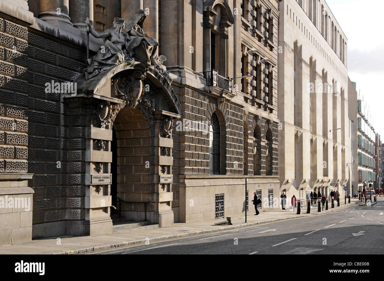 London street crown court the old bailey central criminal court of england wales with