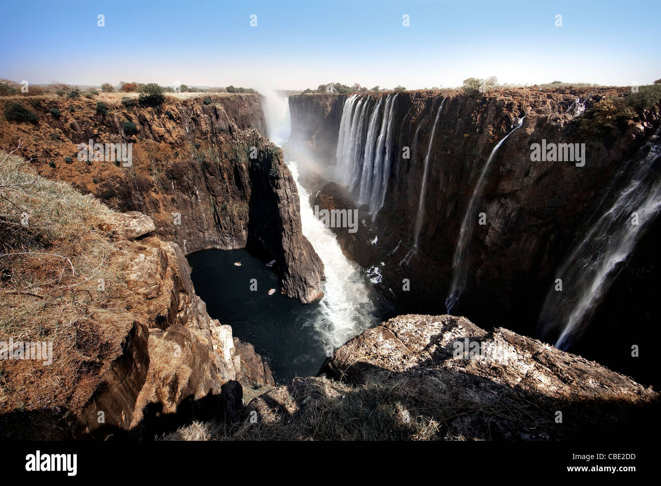 Victoria Falls, Southern Africa - Stock Image
