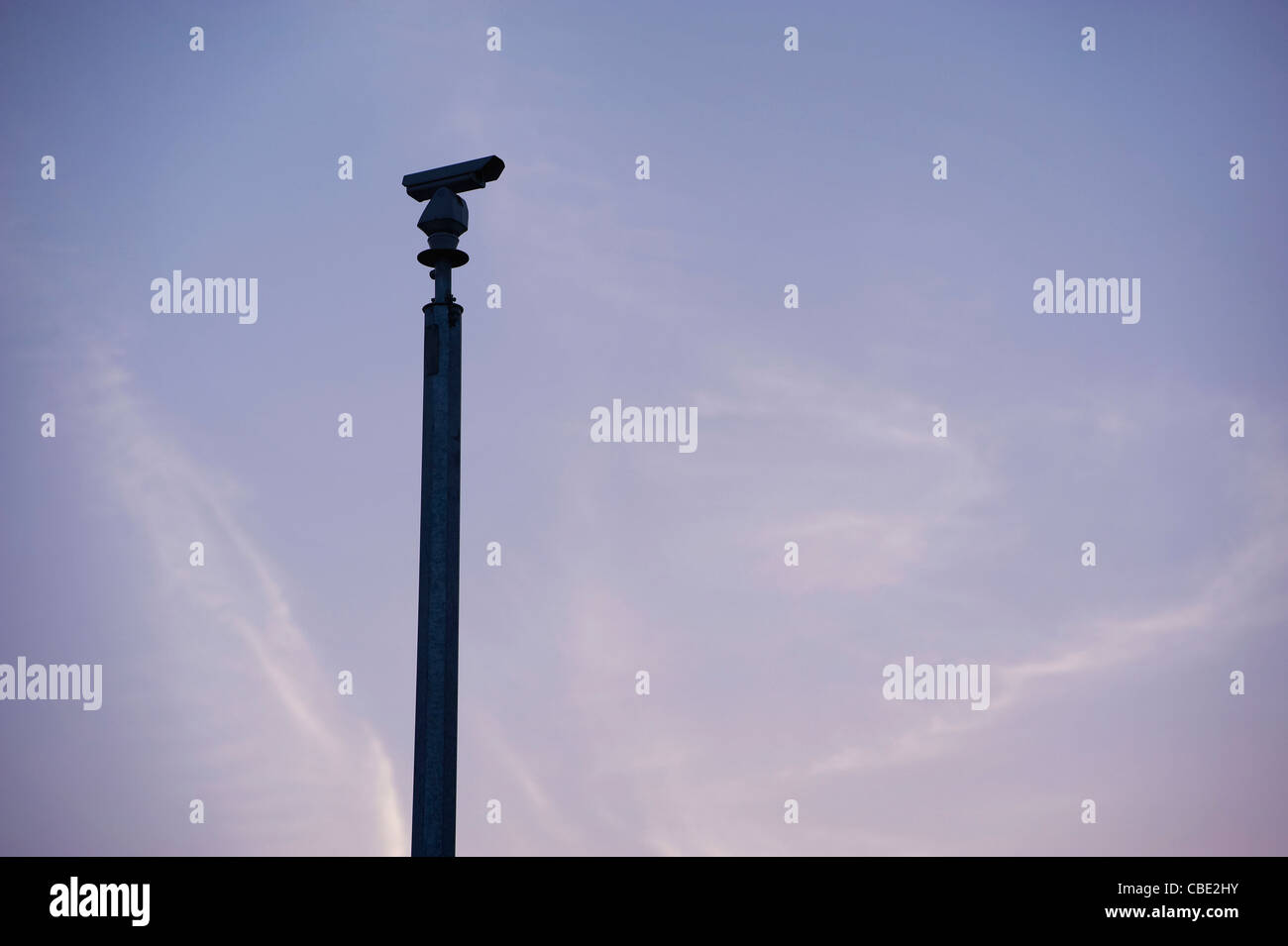 CCTV traffic monitoring camera Stock Photo
