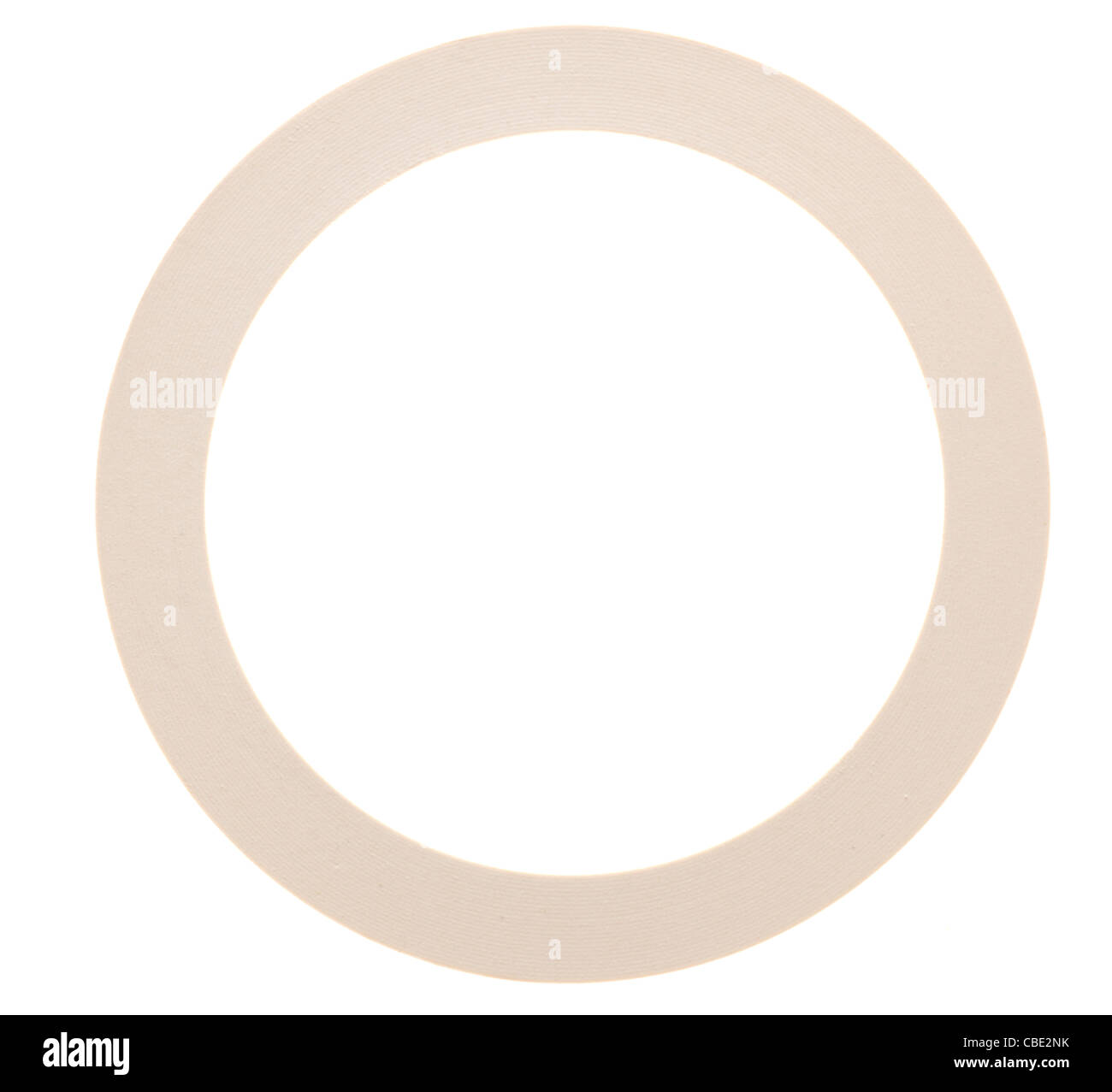 Rubber gasket - Stock Image