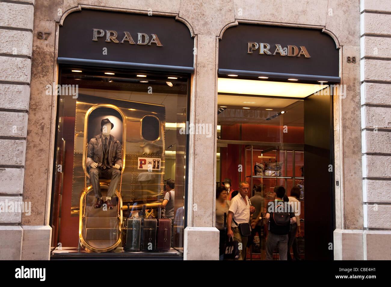 size 40 7e5e9 641e9 Prada Rome Stock Photos & Prada Rome Stock Images - Alamy