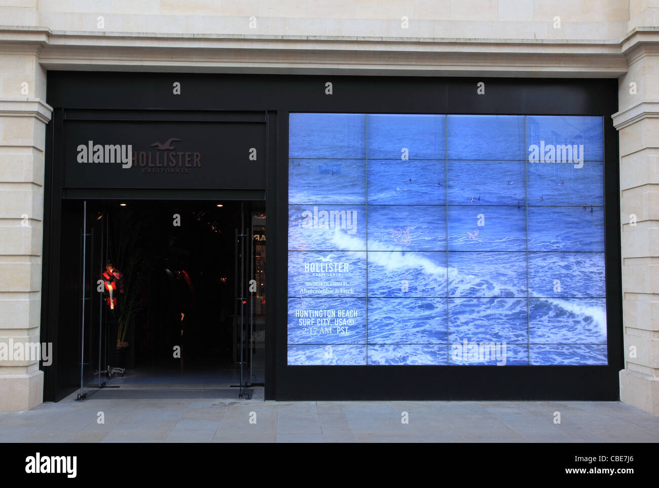 Hollister store southgate bath england stock photo for Hollister live chat