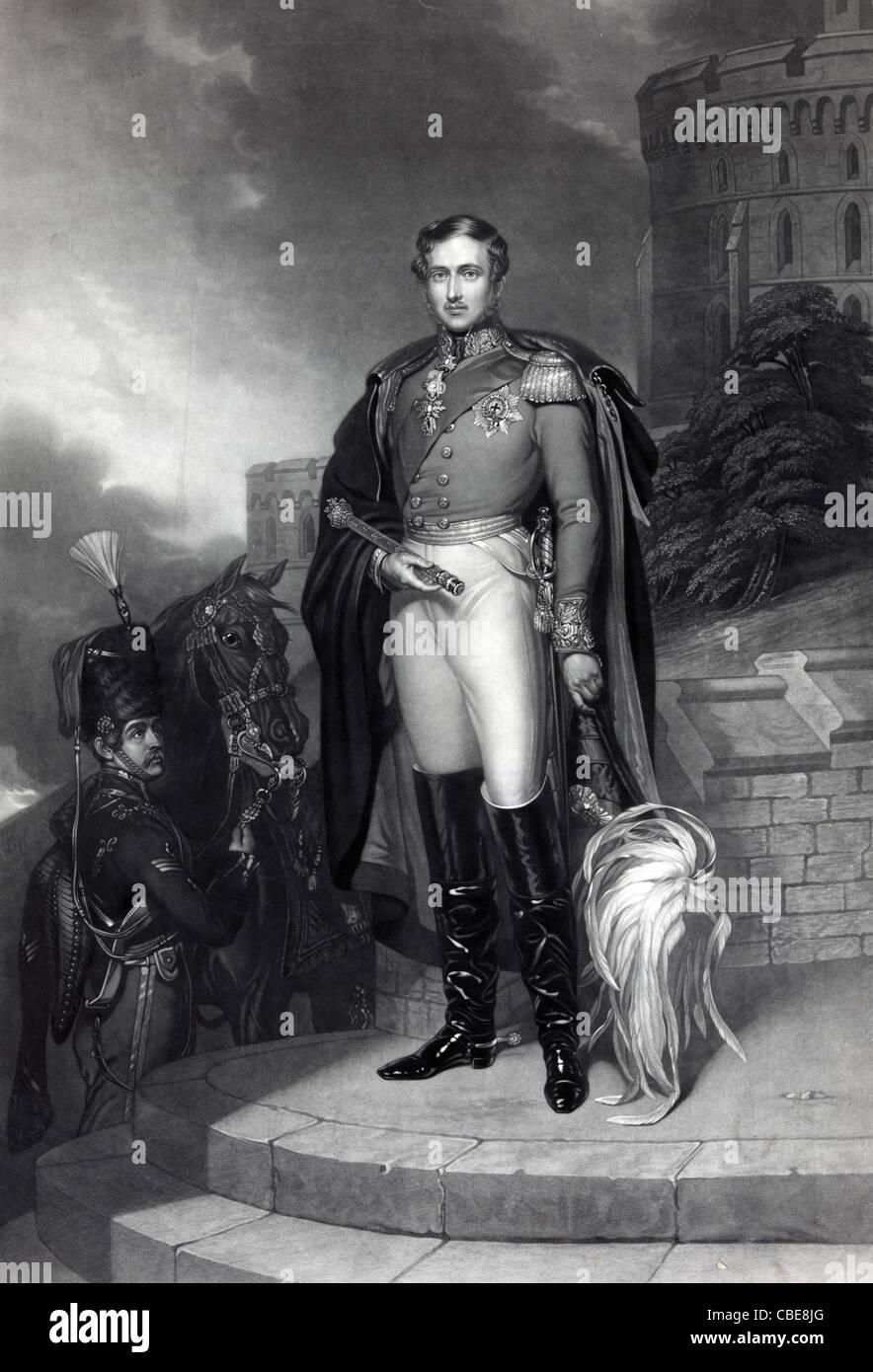 His royal highness Prince Albert - Stock Image