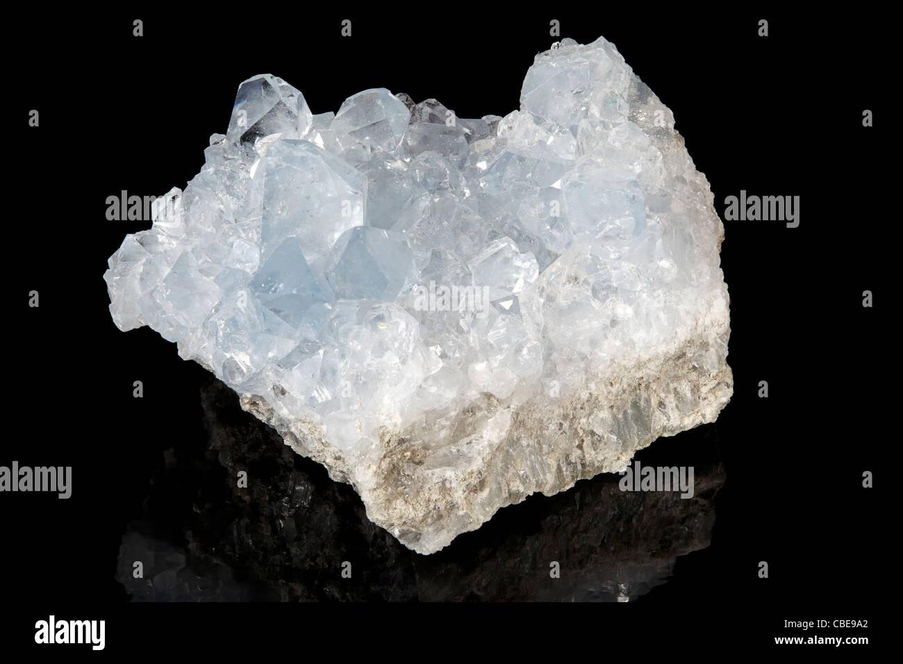Celestite (Strontium Sulfate) - Stock Image