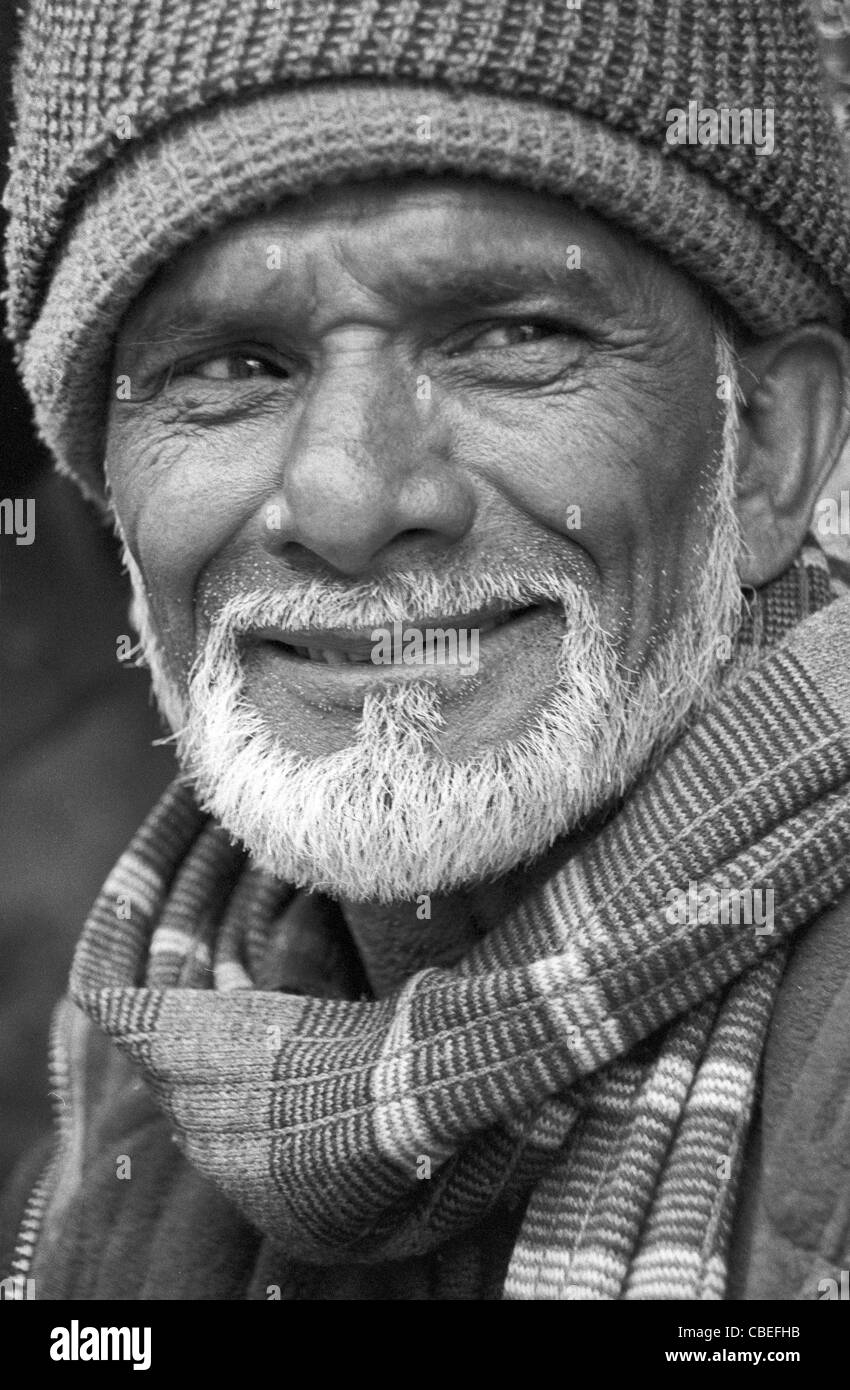 Indian Portraits - DARJEELING, First serie of north India. - Stock Image