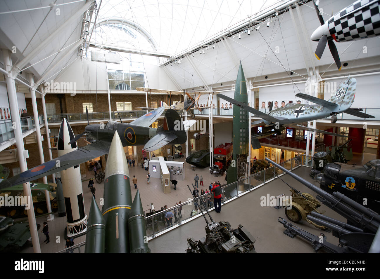 the imperial war museum london england uk united kingdom - Stock Image