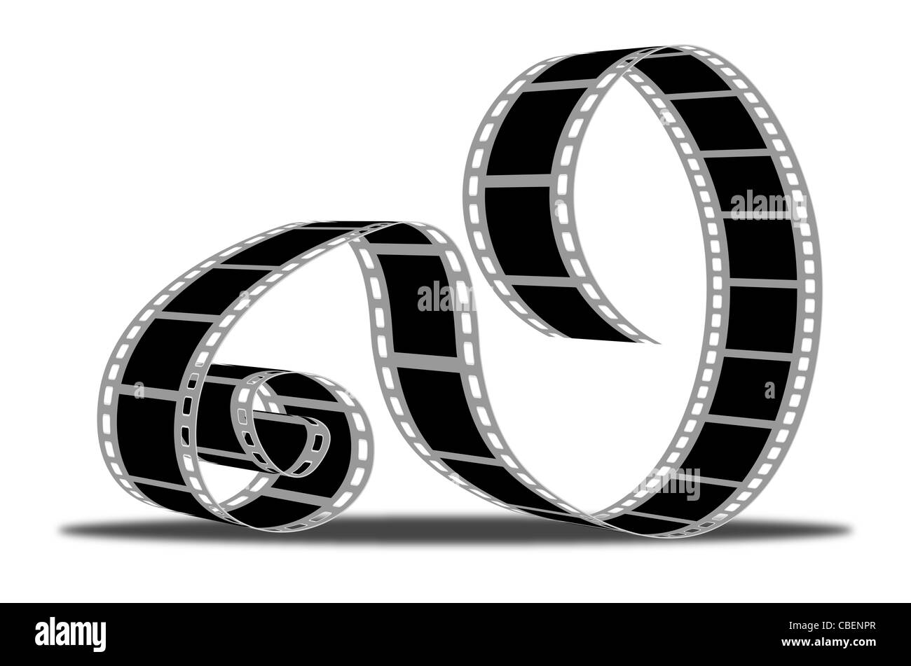 Movie strip - Stock Image