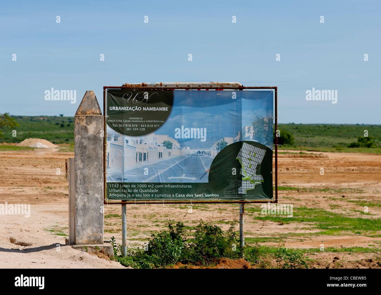 Property Development Project In Lubango, Angola - Stock Image