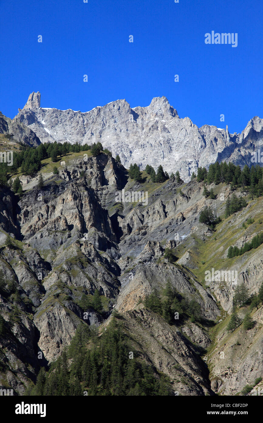 Italy, Alps, Aosta Valley, Val Veny, landscape, - Stock Image