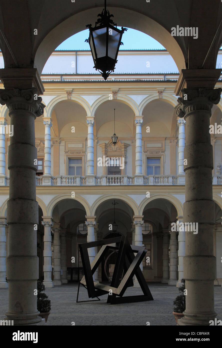 Italy, Piedmont, Turin, University, Palazzo del Rettorato, Stock Photo