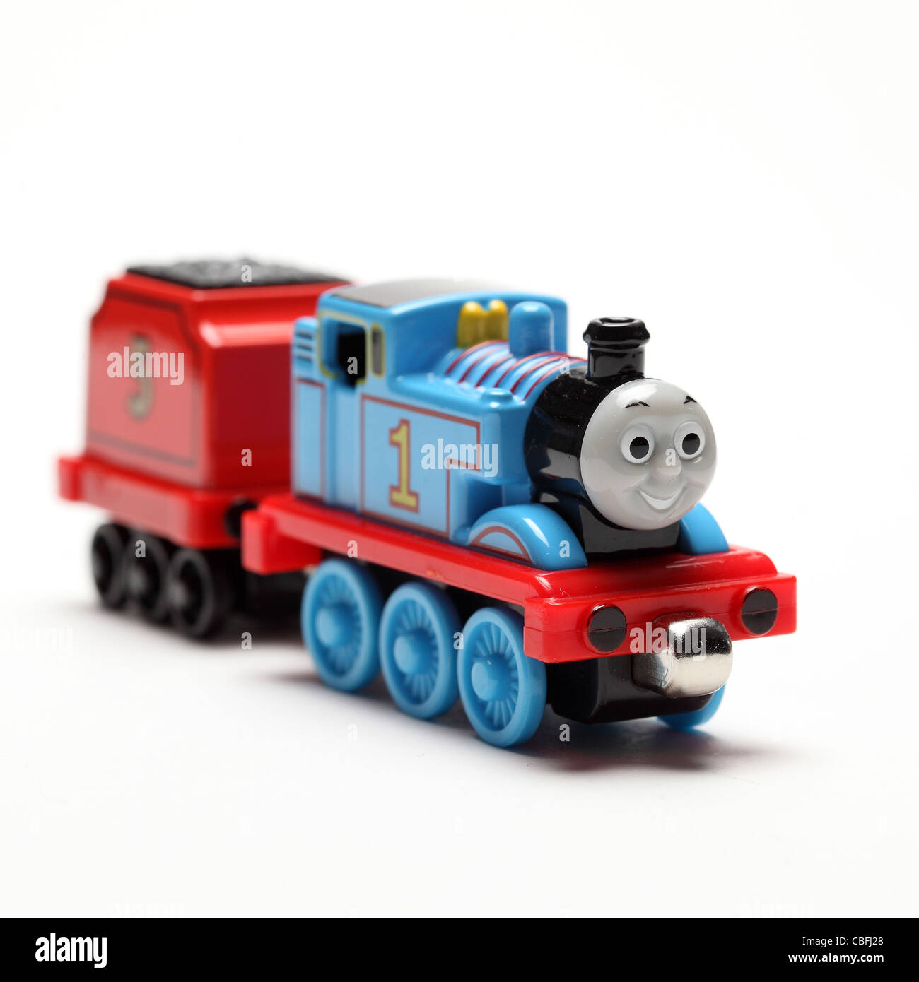 Thomas train locomotive Stock Photo