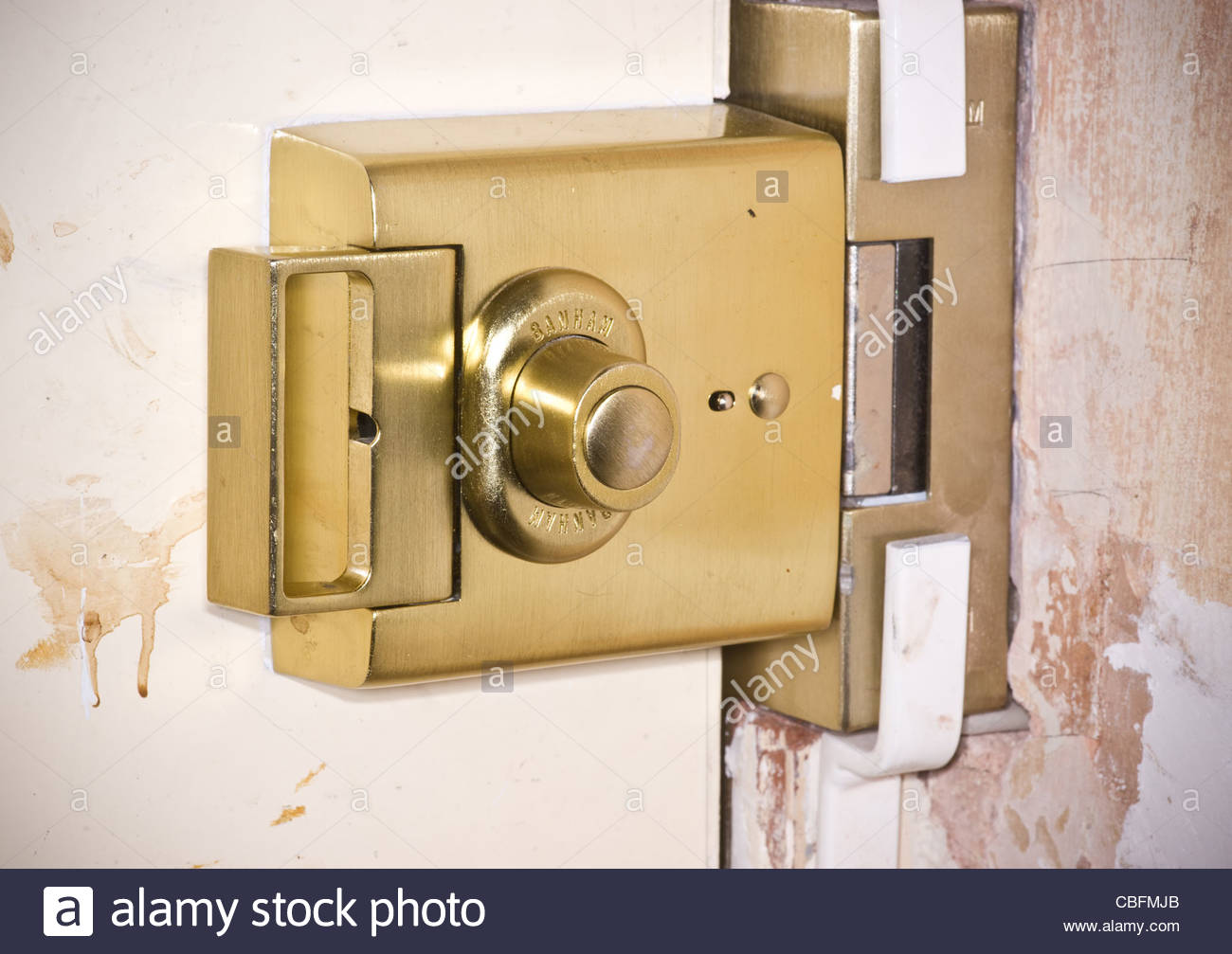Banham Door Lock Stock Photo Alamy