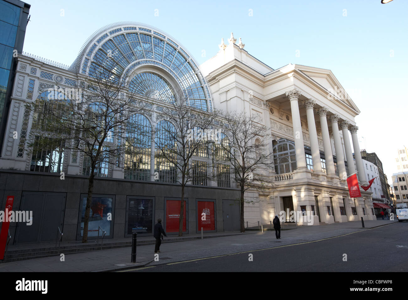 the royal opera house theatreland west end london england uk united kingdom - Stock Image