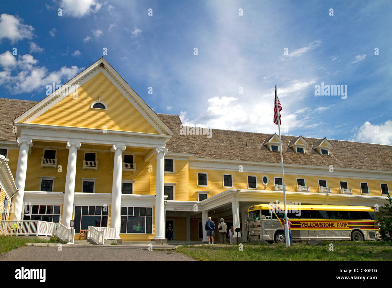 Lake Yellowstone Hotel Is Located Within Yellowstone