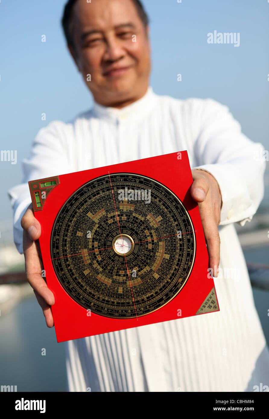 Feng Shui Master feng shui compass stock photos feng shui compass stock images alamy