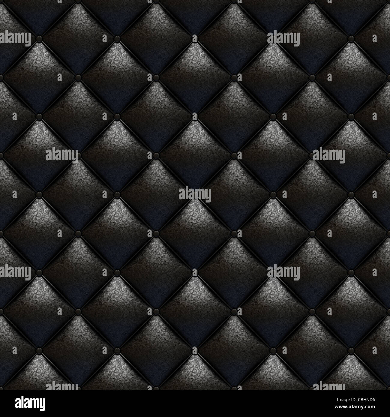 Black leather upholstery texture totally seamless and