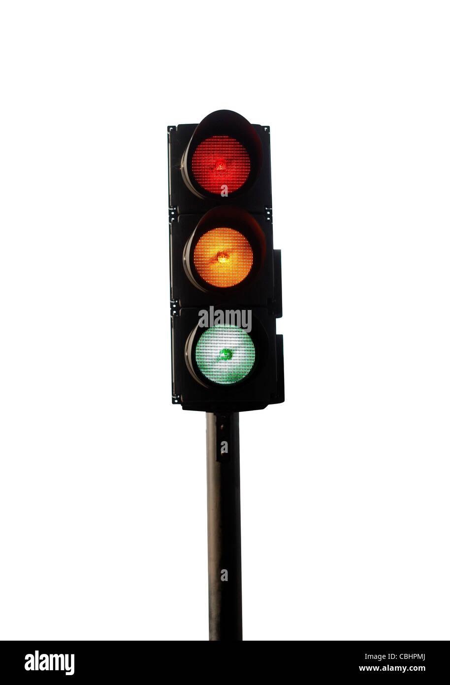 Traffic lights - Stock Image
