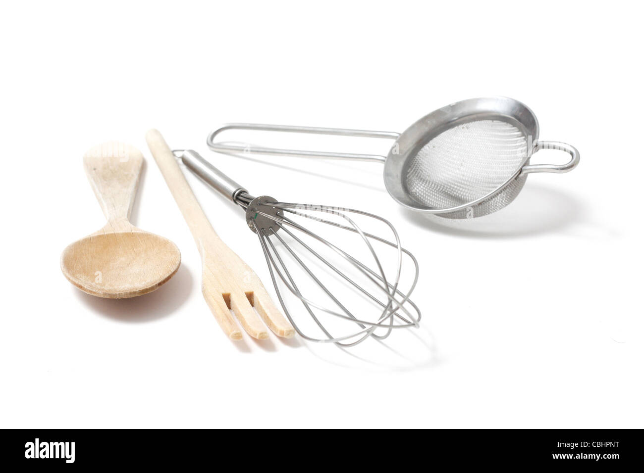 Kitchen utensils - Stock Image