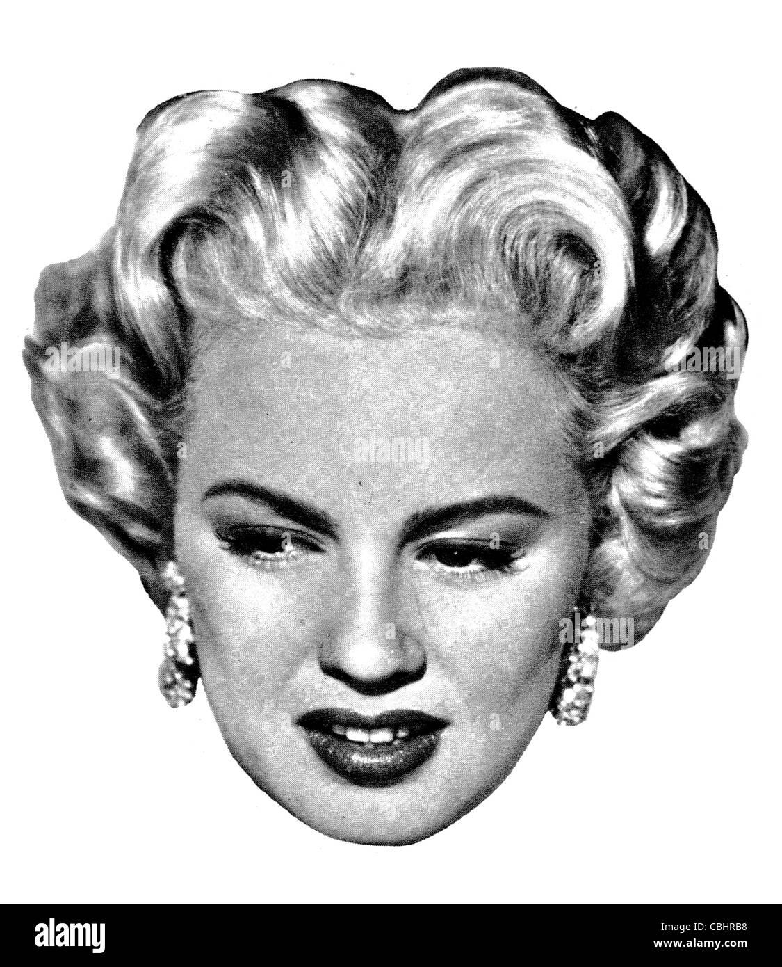 Joan Lucille Olander 1931 Mamie Van Doren American actress singer Universal Picture's Playboy - Stock Image