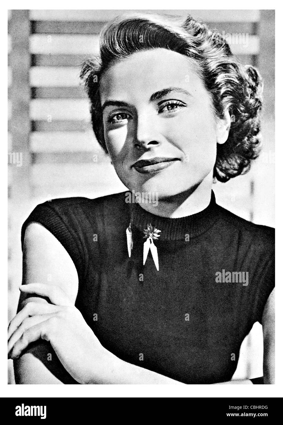 Grace Patricia Kelly 1929 1982 American actress Princess consort Monaco Her Serene Highness - Stock Image