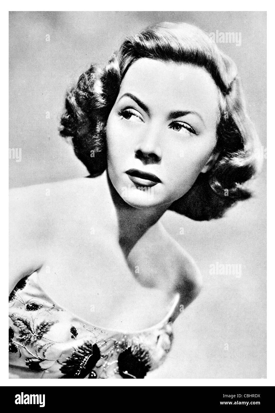 Gloria Grahame 1923 1981 American Academy Award winning actress The Greatest Show on Earth - Stock Image