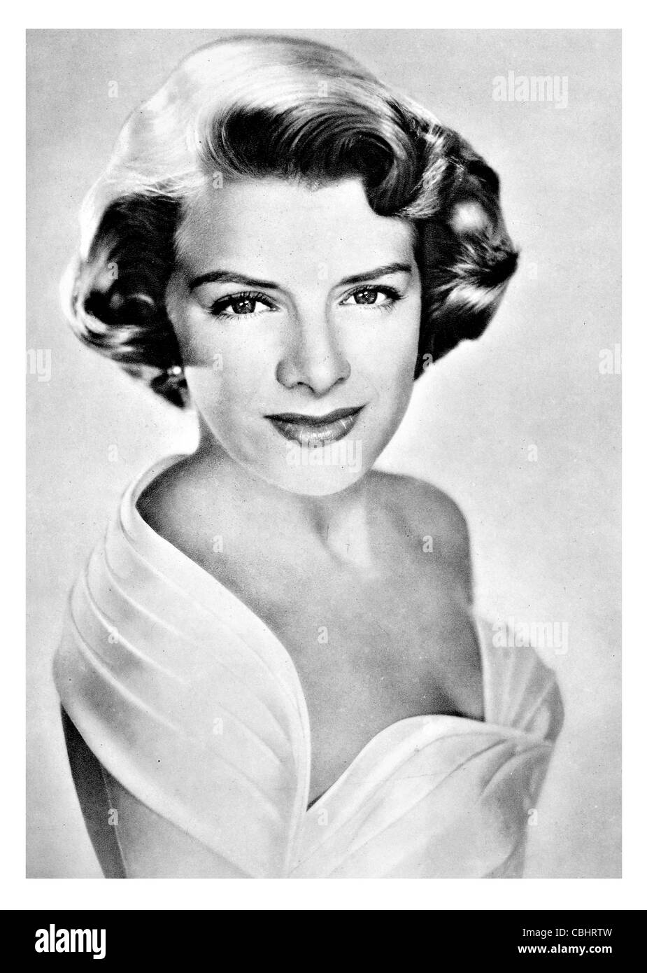 Rosemary Clooney 1928 2002 American singer actress Come On a My House George Clooney - Stock Image