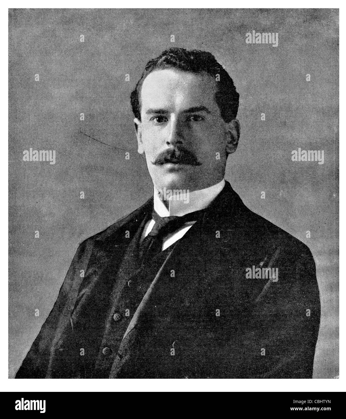William Frederick Danvers Smith 2nd Viscount Hambleden 1868 1928 English businessman politician W H Smith British - Stock Image