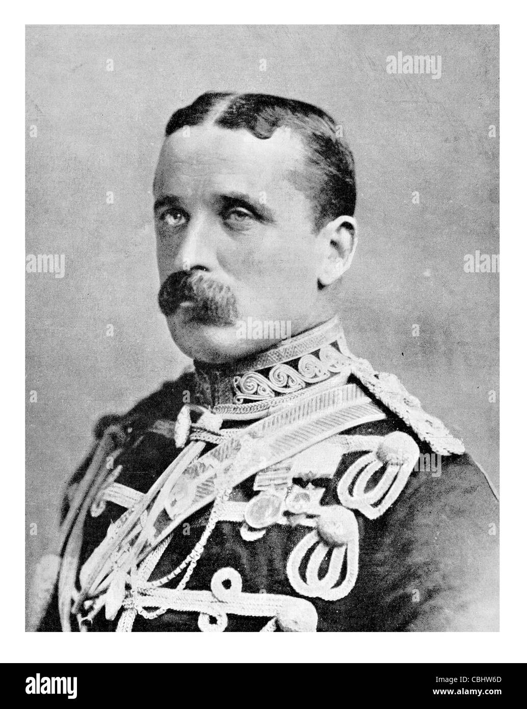 advance Army Lieut General Field Marshal Frederick Sleigh Roberts 1st Earl 1832 1914 British soldier commander in - Stock Image