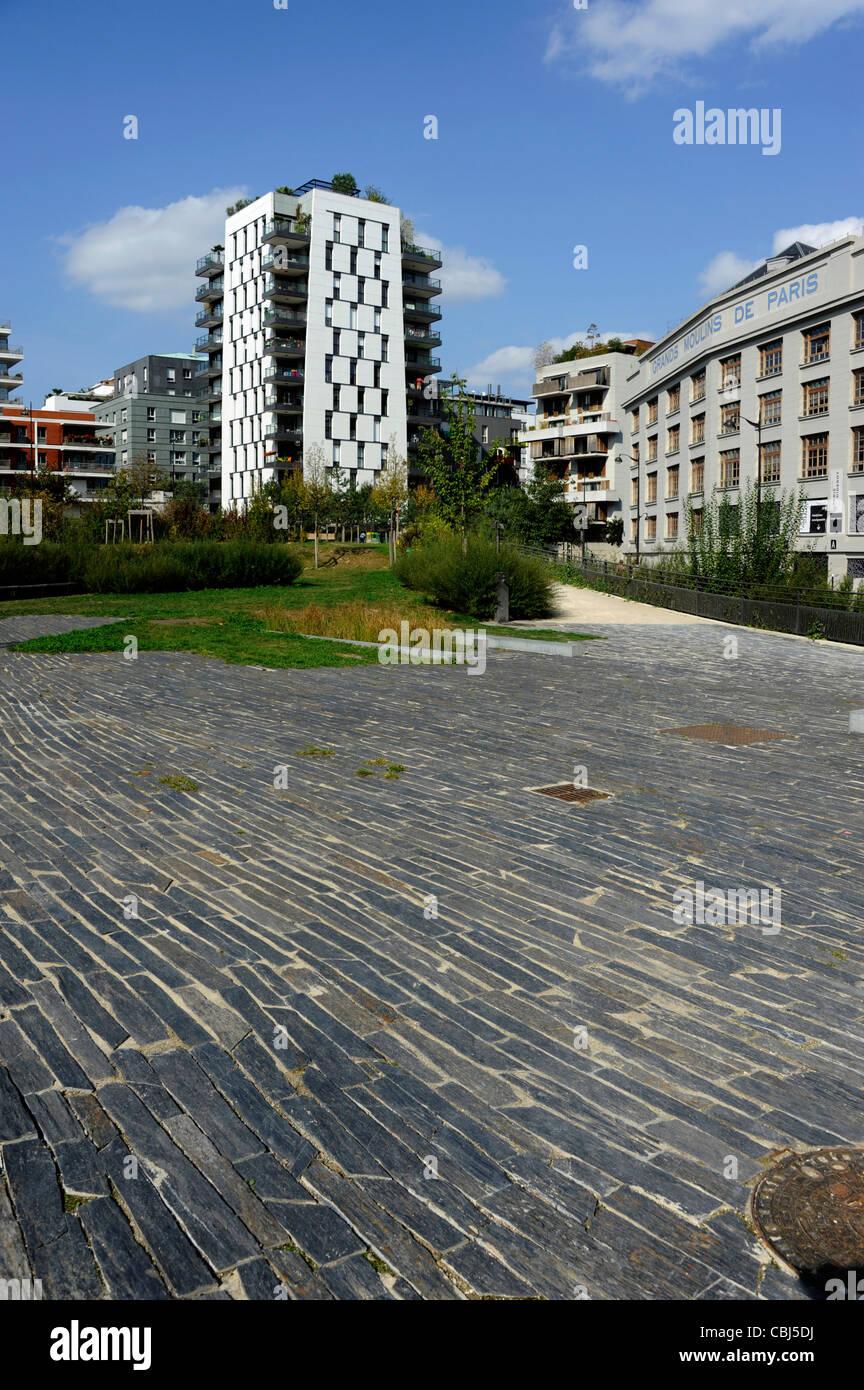 Jardins Des Grands Moulins,Abbe Pierre,Left Bank,new Quarter,Paris,