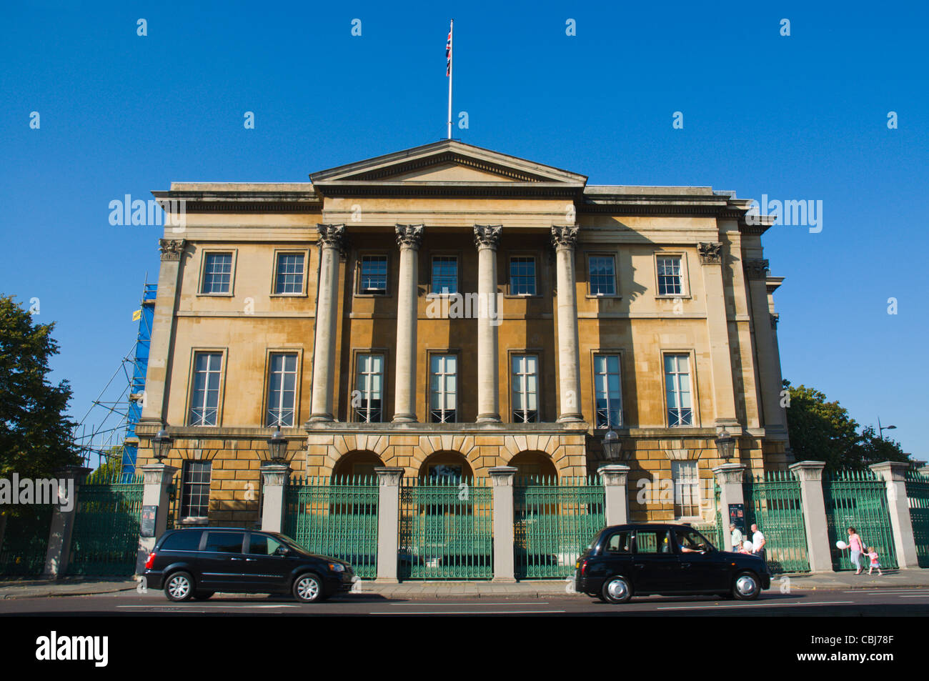 Number One London aka Apsley House along Piccadilly at Hyde Park Corner central London England UK Europe - Stock Image