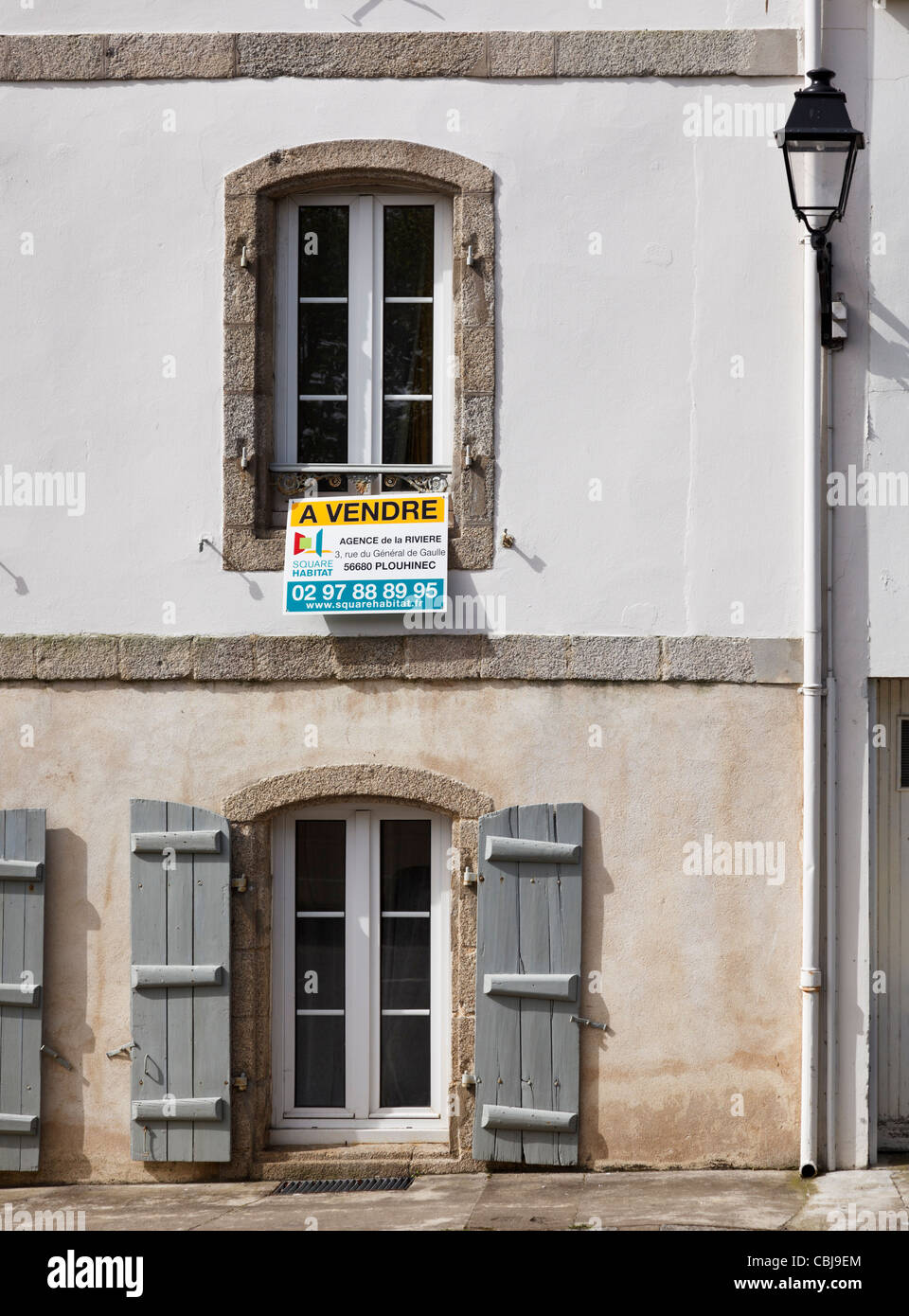 House for sale, France - Stock Image