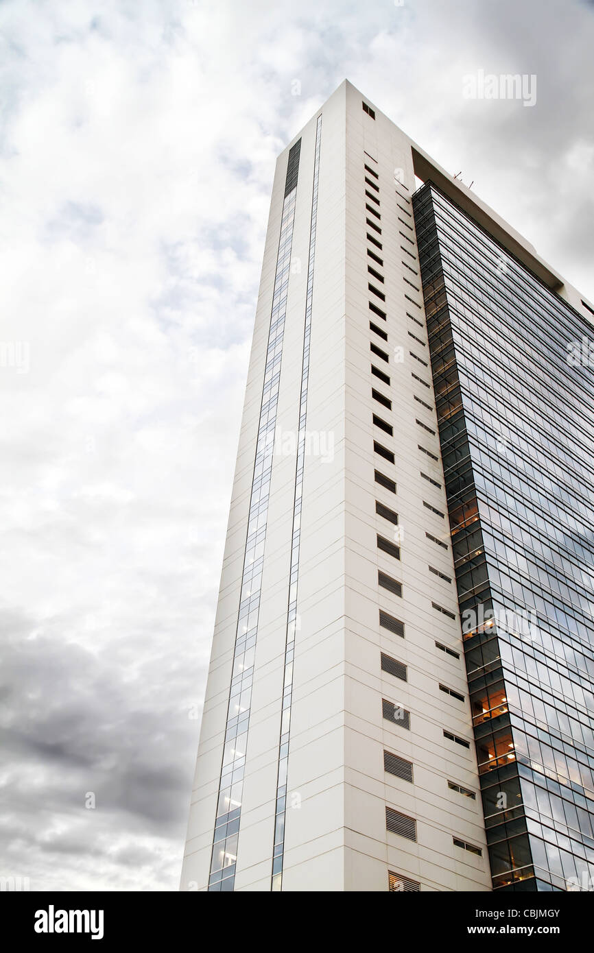 Skyscraper in Buenos Aires, Argentina. - Stock Image