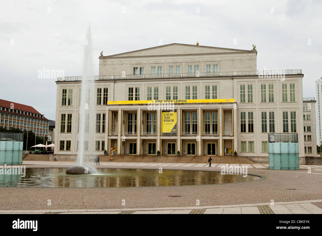 Leipzig Opera House High Resolution Stock Photography And Images Alamy