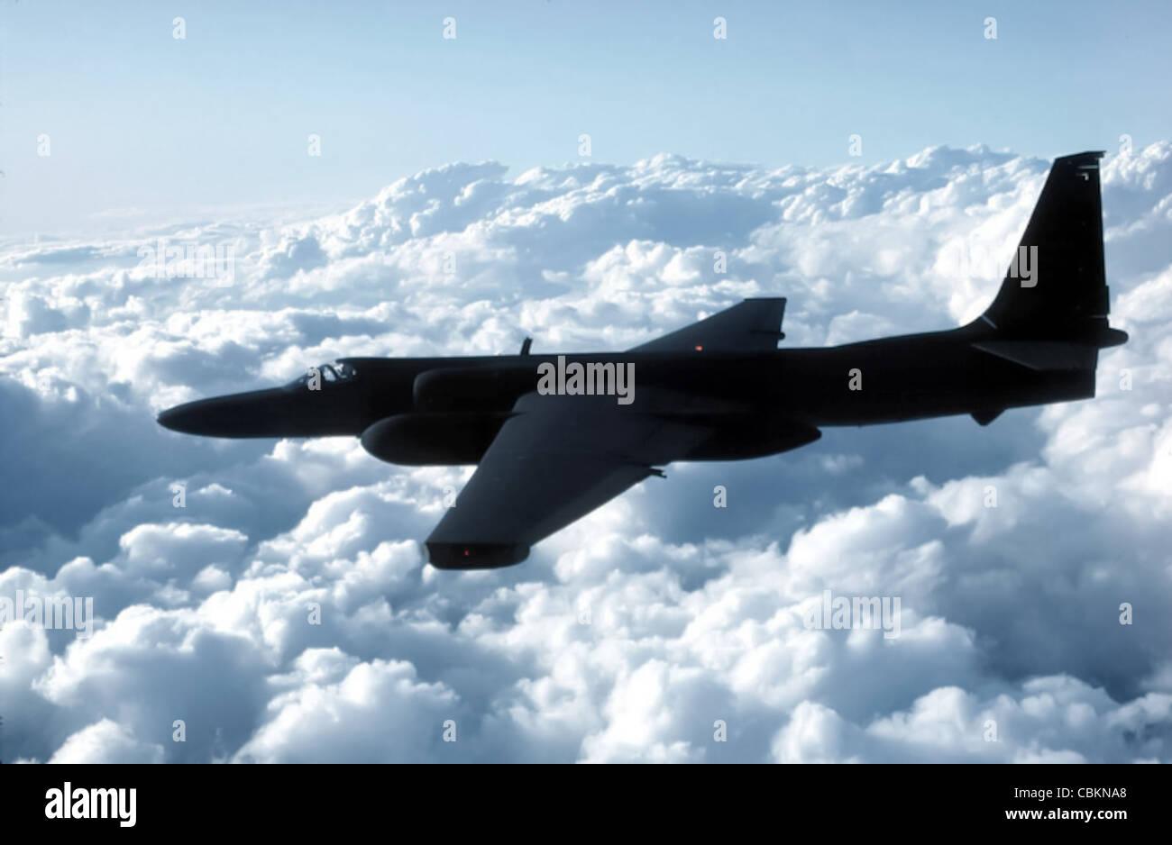 The U-2 Dragon Lady spy plane - Stock Image