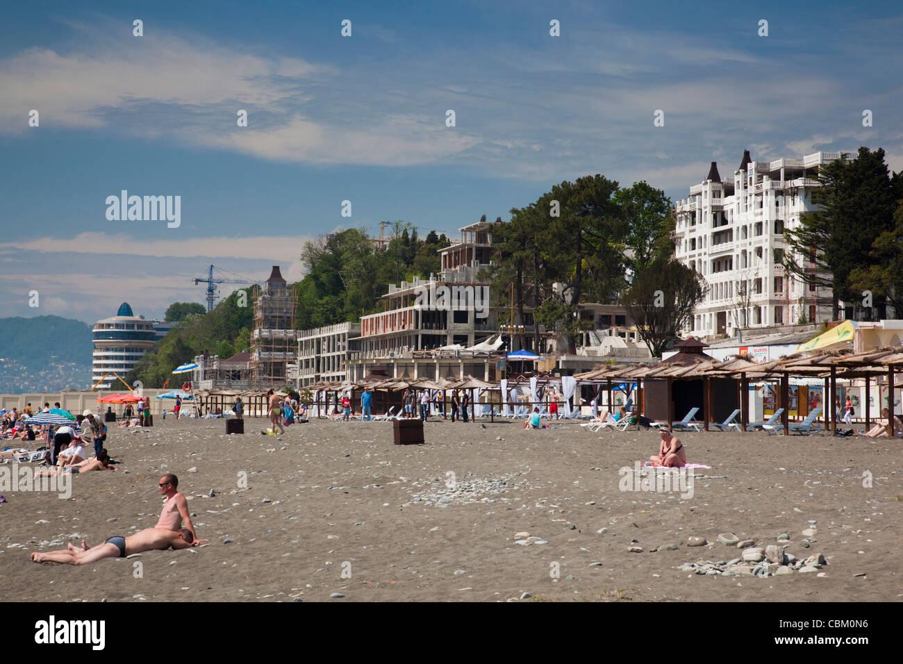 Beach Riviera in Sochi. Description, reviews of tourists 39