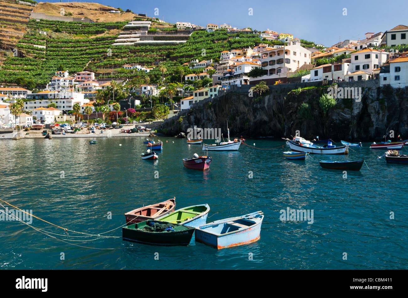 Camara de Lobos - Madeira - Stock Image