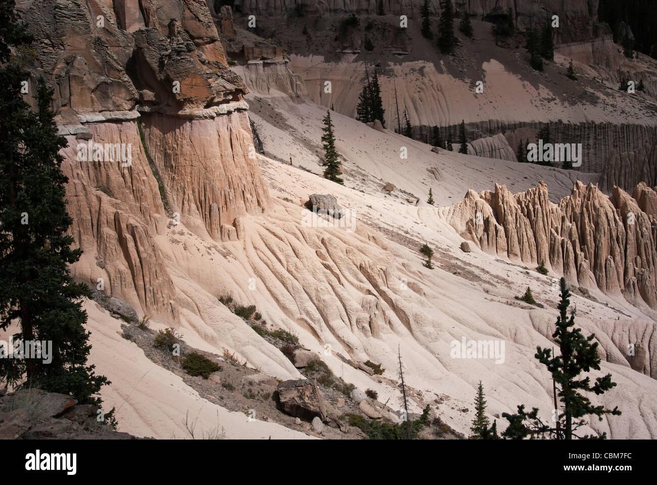 Wheeler Geologic Area La Garita Wilderness Colorado USA - Stock Image