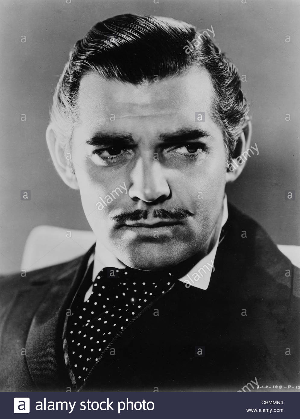 Clark Gable as Rhett Butler in 'Gone With the Wind', 1939. Photo Courtesy CIF - Stock Image