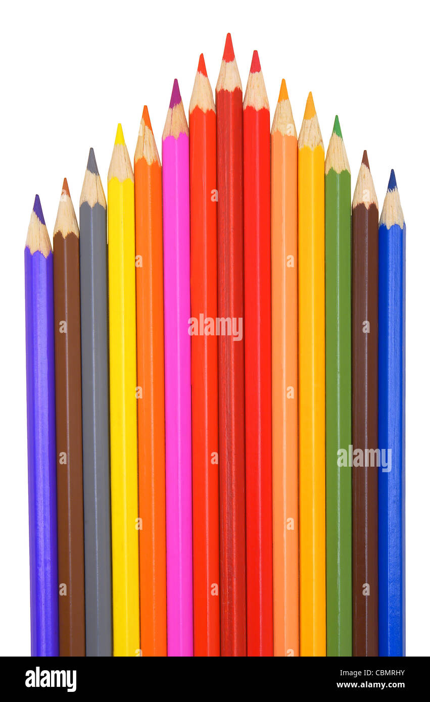 Color pencils. - Stock Image