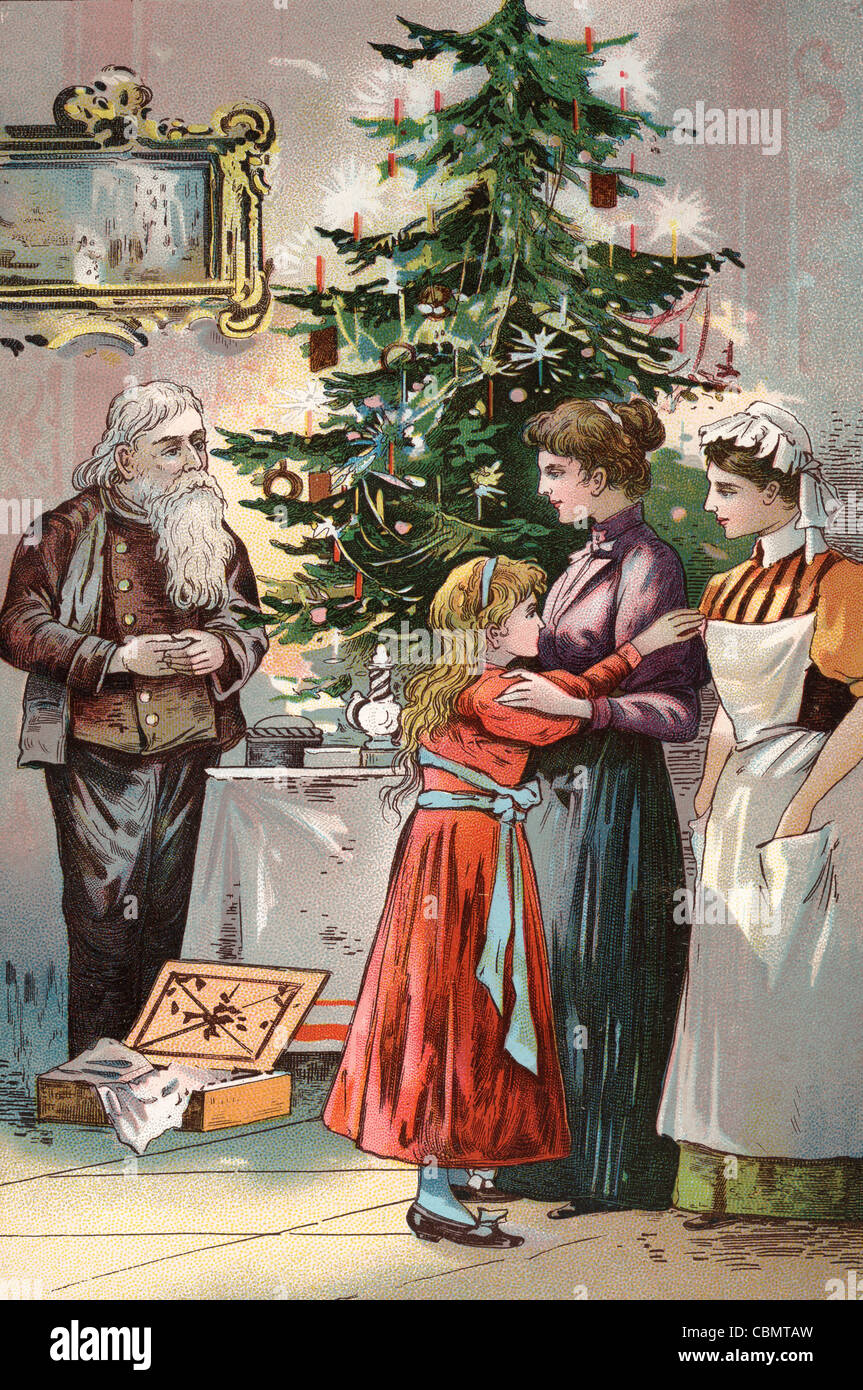 Christmas Celebration Images For Drawing.Ancient Antique Art Brown Card Cartoon Celebration Christmas