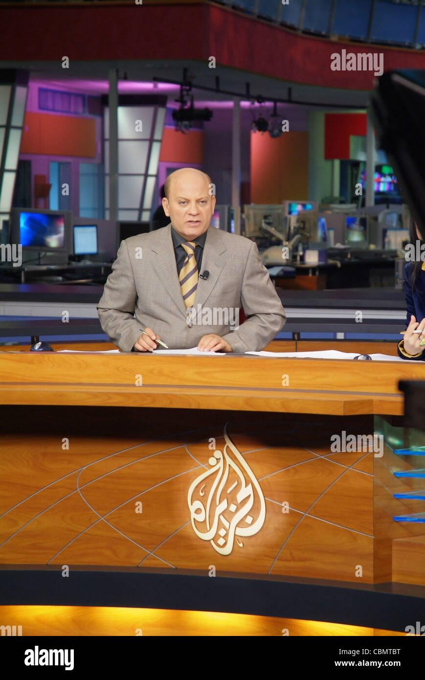 Arab News Presenter Stock Photos & Arab News Presenter Stock