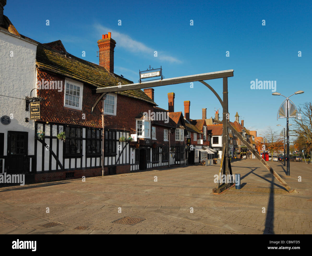 Crawley High Street. - Stock Image