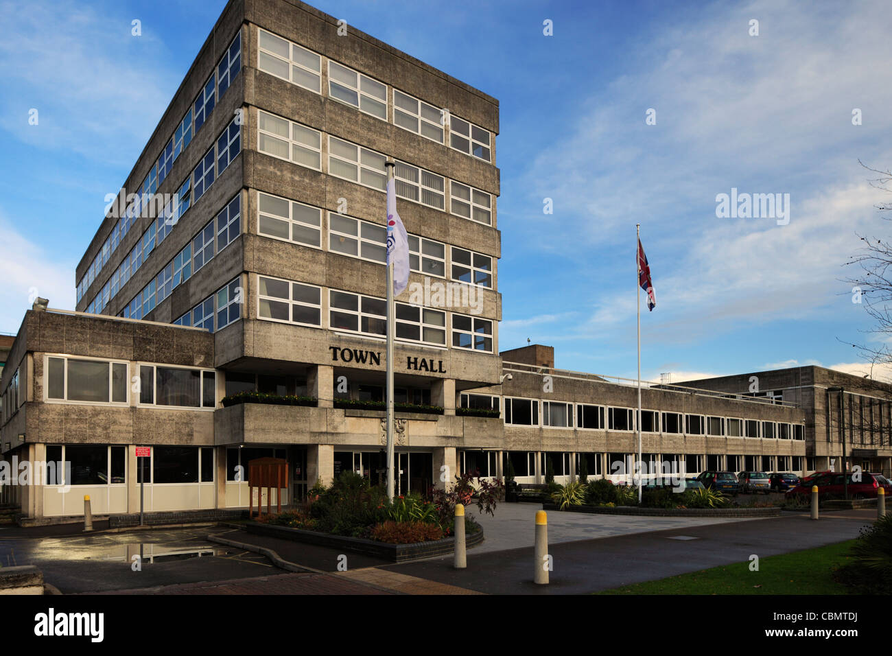 Crawley Town Hall. - Stock Image