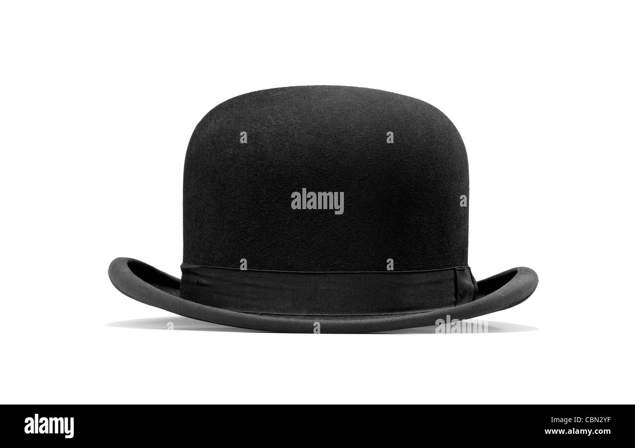 347e8e16c6c a bowler hat isolated on a white background Stock Photo  41645283 ...