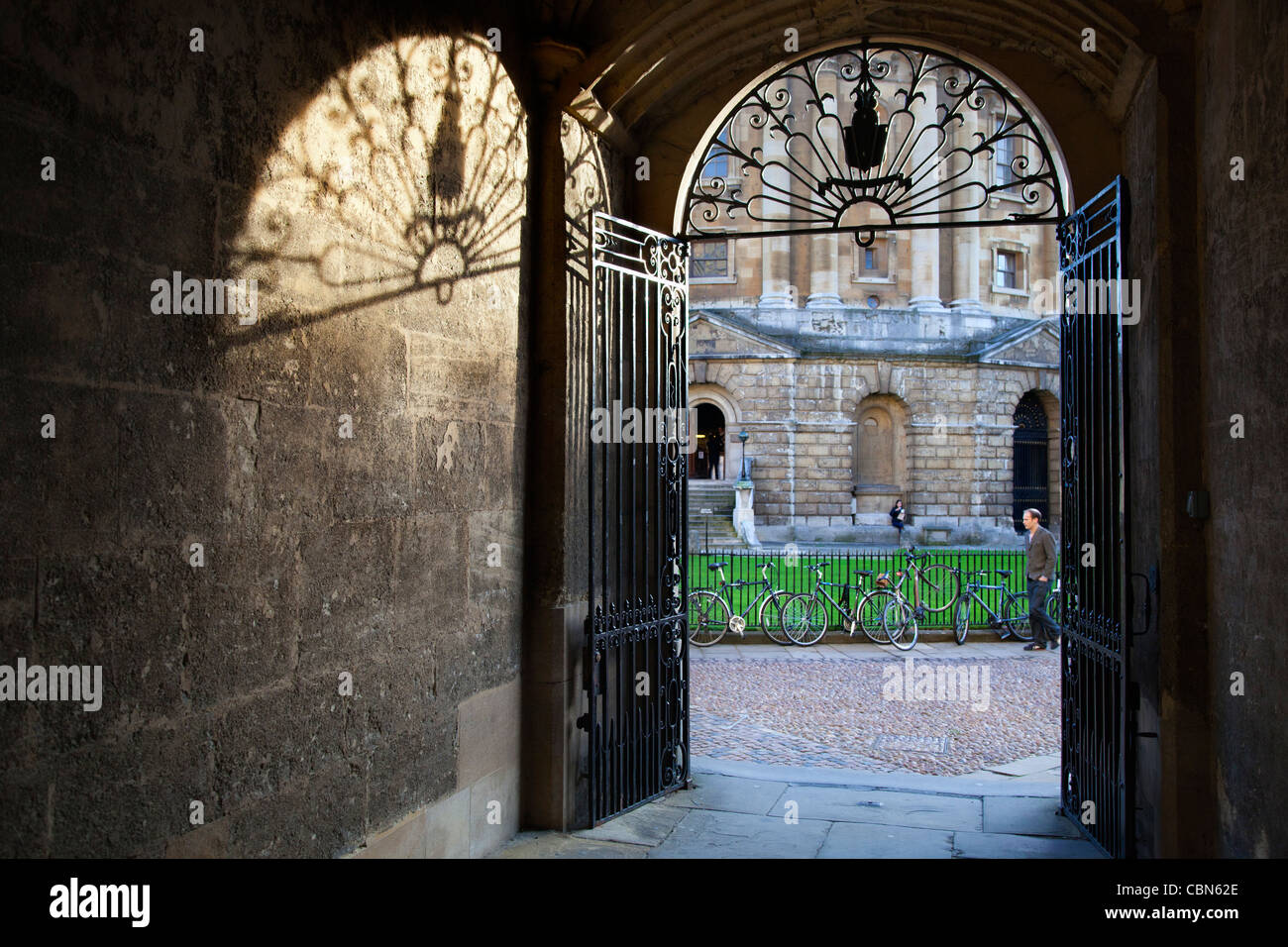 Gateway from Bodleian Library to Radcliffe Square, Oxford 7