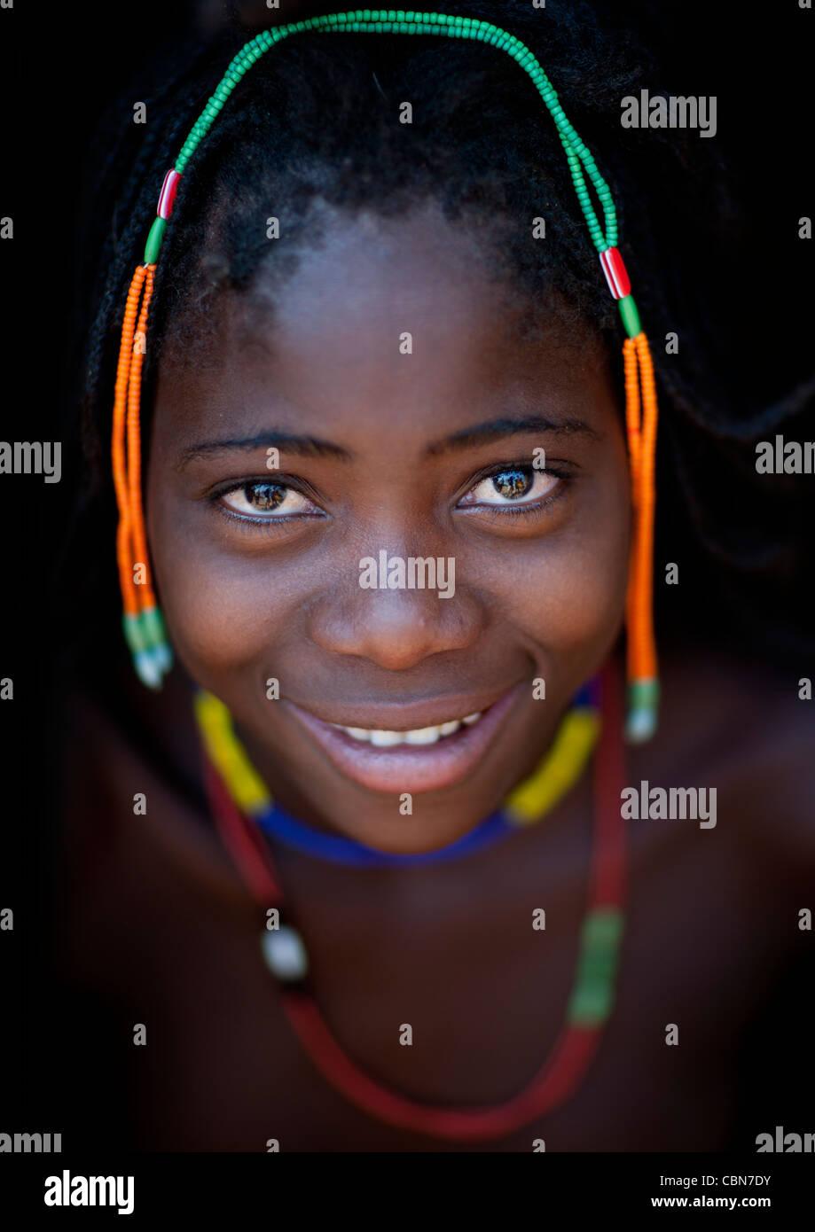 Mudimba Girl Called Misses Loide, Angola - Stock Image