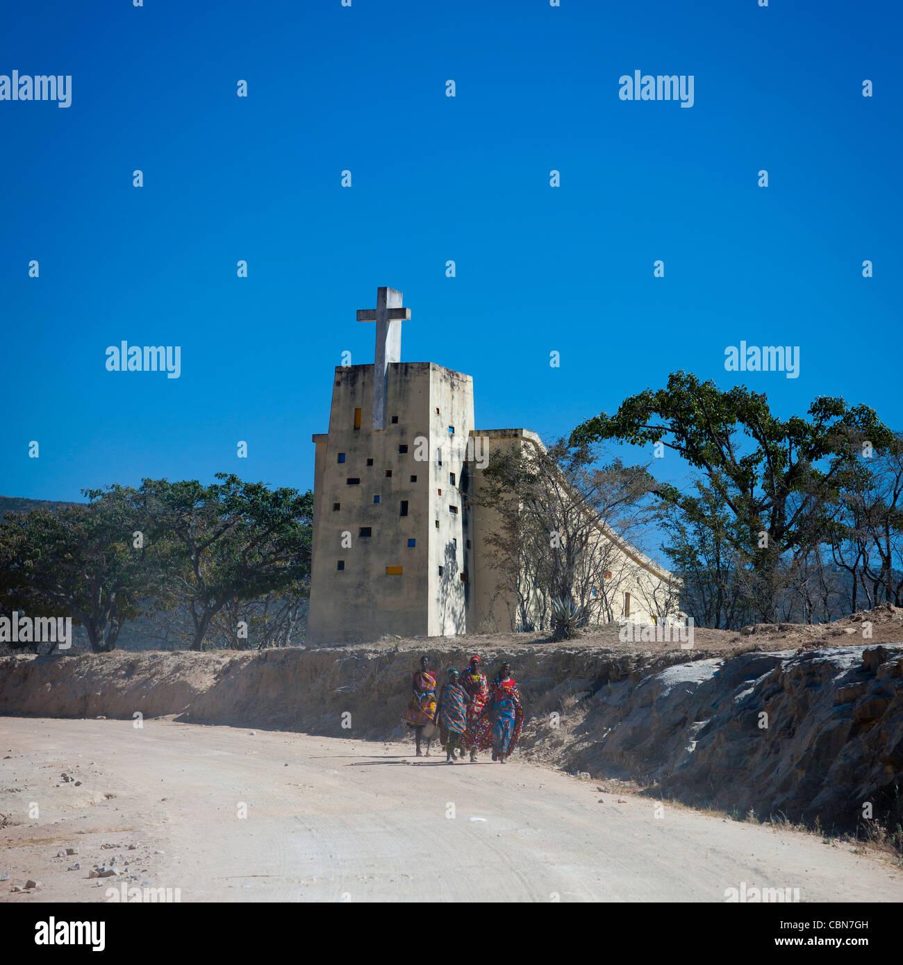 Lubango Church, Angola - Stock Image