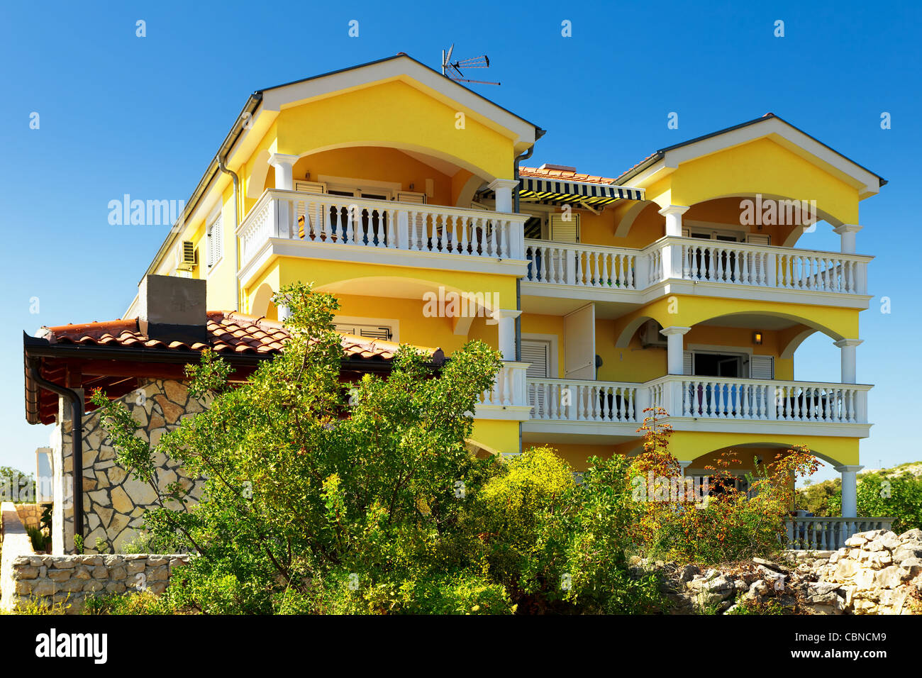 Mountain house for rent - Stock Image