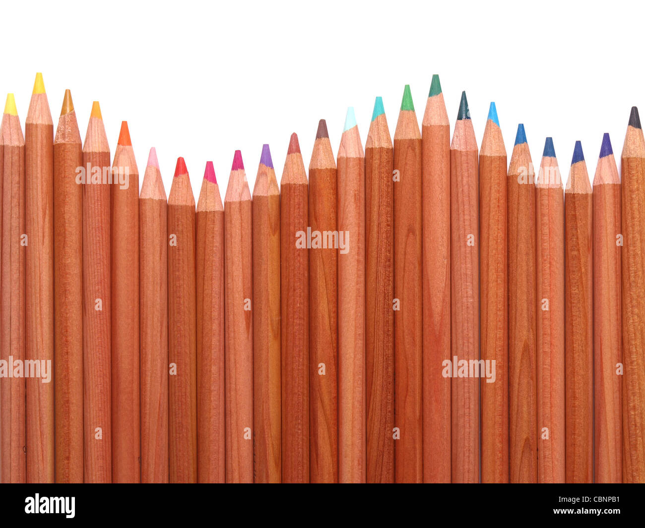 color pencils - Stock Image